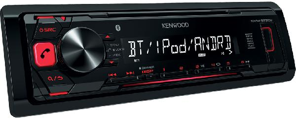 фото: Kenwood KMM-BT302
