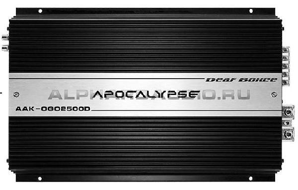 фото: Alphard AAK OGO-2500.1D
