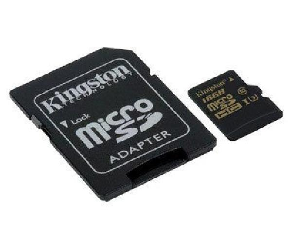Kingston MicroSD 16Gb UHS-I U3