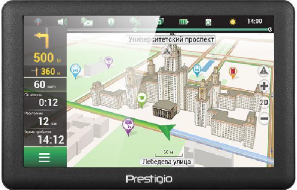 PRESTIGIO GPS GeoVision 5066
