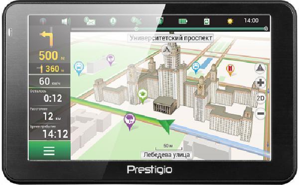 PRESTIGIO GPS GeoVision 5068