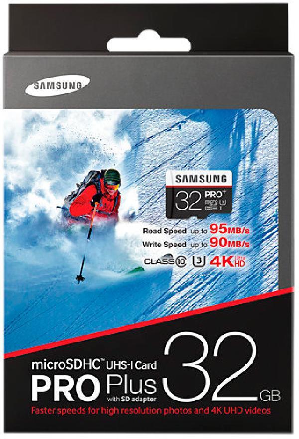 Samsung MicroSD 32Gb UHS-I U3