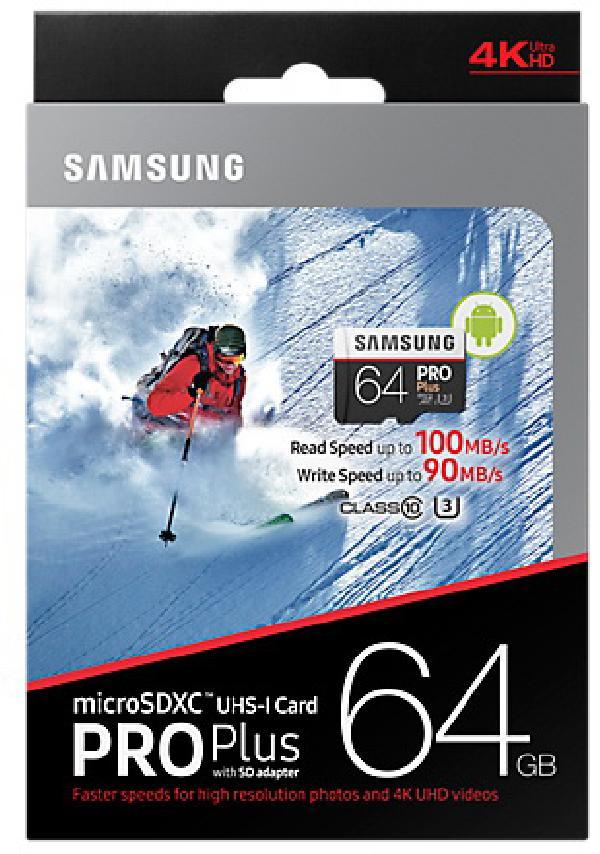 Samsung MicroSD 64Gb UHS-I U3