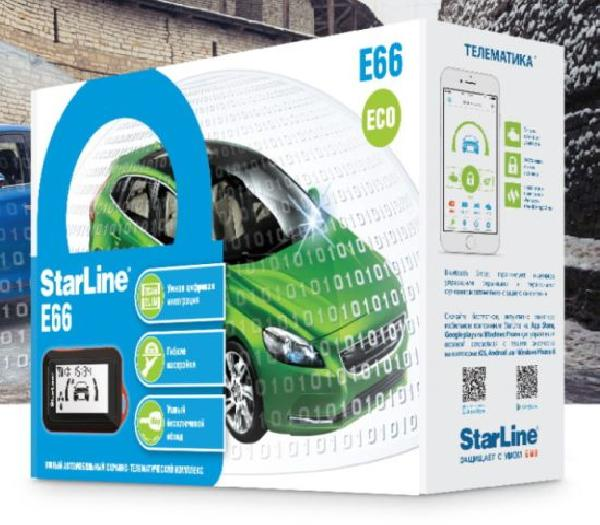 StarLine E66 BT ECO