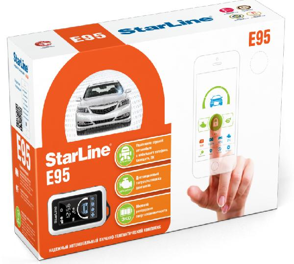 StarLine E95BT 2CAN-2LIN GSM