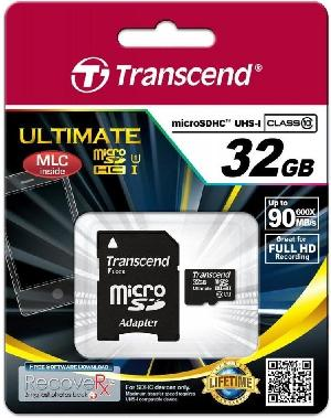 Transcend MicroSD 32Gb Class 10