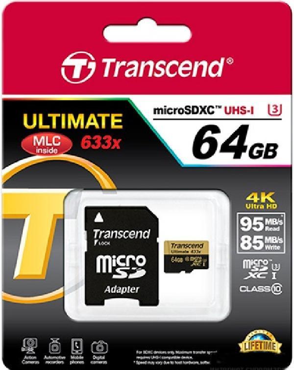 Transcend MicroSD 64Gb Ultimate