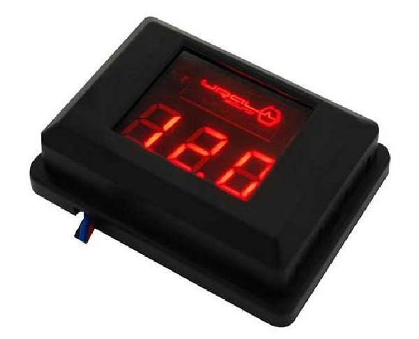 фото: URAL DB Voltmeter (красная подсветка)