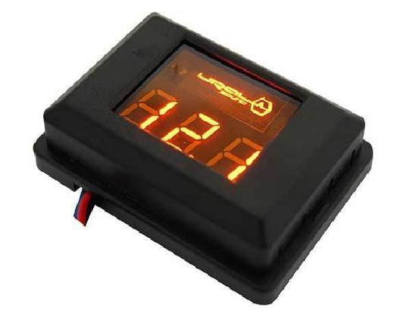фото: URAL DB Voltmeter (оранжевая подсветка)