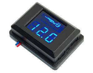 фото: URAL DB Voltmeter (синяя подсветка)